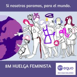 Red equo mujeres 8 de marzo